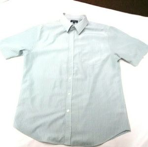 Mens croft and barrow green strip size L dress